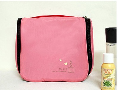 Free shipping Girls fashion toilet bags hanging cosmetic / travel wash bag / candy color waterproof storage bag(China (Mainland))