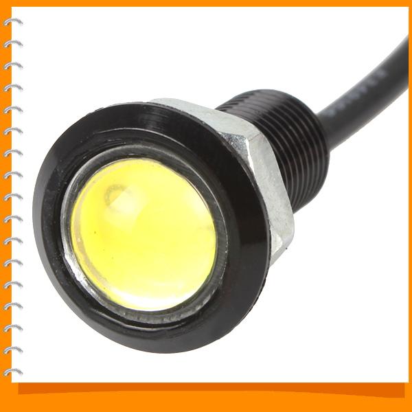 18mm 1.5W Ultra-thin Eagle Eye Car Door Light Transparent Screw Universal Car Door Lamp for All Vehicles<br><br>Aliexpress