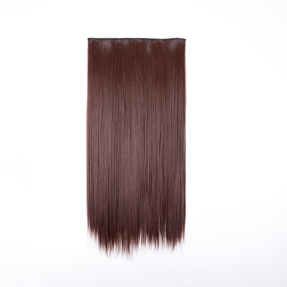 WF641G16-132 Blonde Silky Straight 5 Clip In Hair Extensions False Hair 24 Long Hair Extension 1PC<br><br>Aliexpress