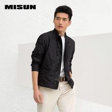 MISUN 2016 spring jacket men's clothing stand collar PU patchwork short design zipper thin coat short trench men's windbreaker(China (Mainland))
