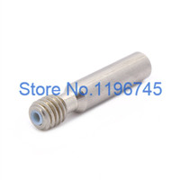 2pcs 3D printer accessories 6*20mm feeding MK8 nozzle throat with Teflon tube for 1.75mm high quality