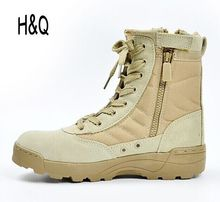 New America Sport Army Men's Tactical Boots Desert Outdoor Hiking Boots Military Enthusiasts Marine Male Combat Shoes A1096(China (Mainland))