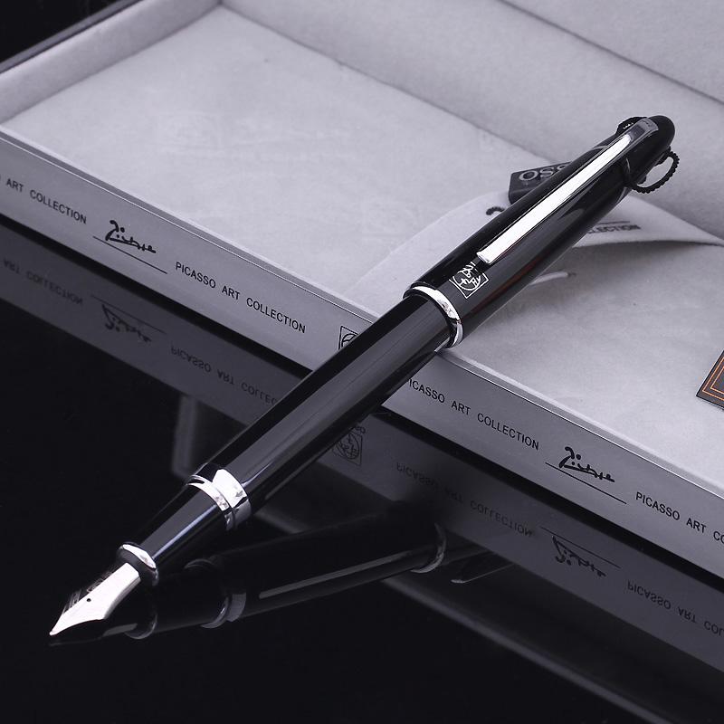 Здесь можно купить  Picas ps-919 picasso baroque black silver iridium fountain pen fountain pen ink pen pimio  Офисные и Школьные принадлежности