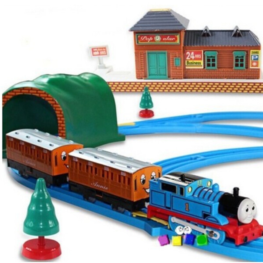 Big Boy Train Toys : Thomas and friends electric trains set with rail for