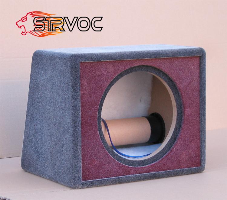 10 box right angle trapezoid quality velvet subwoofer source-free box body source-free box body shell