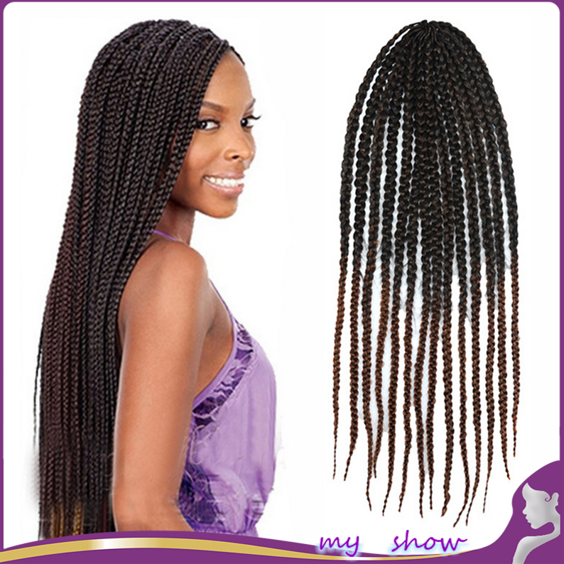 kanekalon jumbo braids amazoncom 24 quot 3x box braid