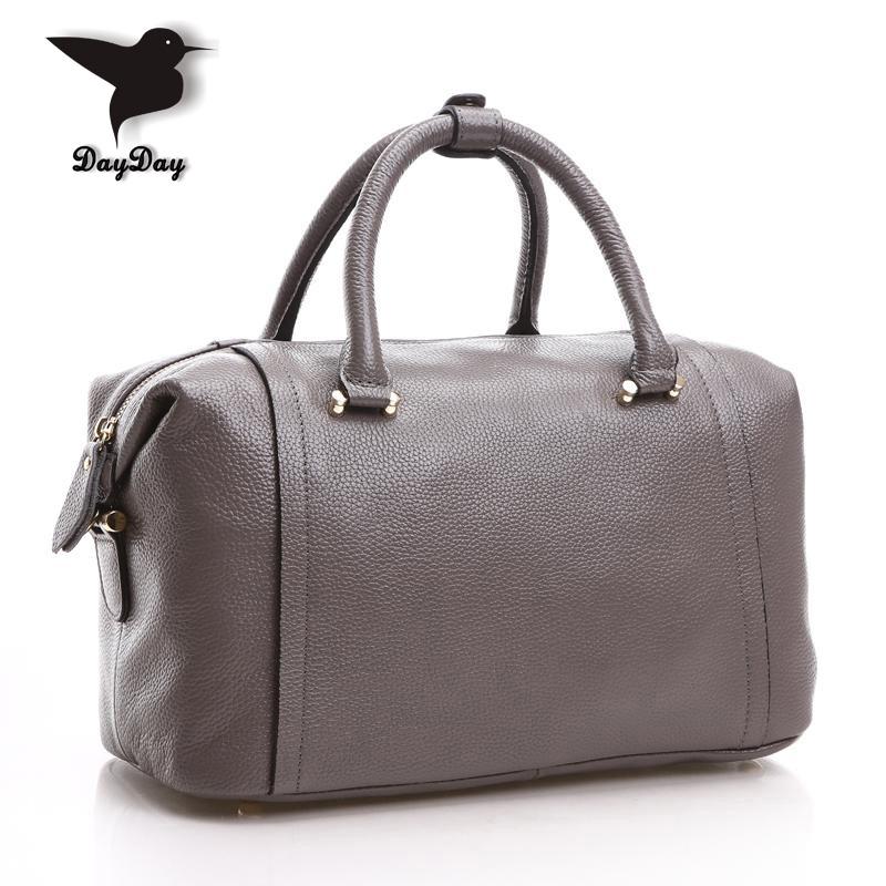 Designer Handbags genuine leather 5 Color Large Capacity Women Leather Handbags Genuine Leahter Lady Tote Bags Shoulder Bag <br><br>Aliexpress