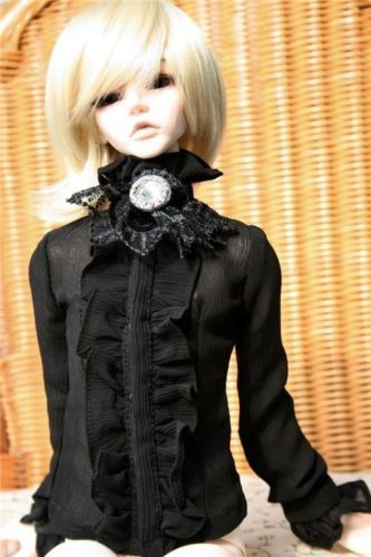 [wamami] 80# Black Lace Clothes/Shirt/Outfit 1/4 MSD BJD Dollfie<br><br>Aliexpress