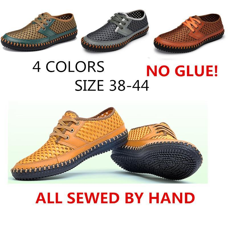 Summer Men Mocassin Loafers,Cheap Walking Mens Flats Shoes,Men Soft Breathable Causal Shoes,Hand Made Driving Shoes Men<br><br>Aliexpress