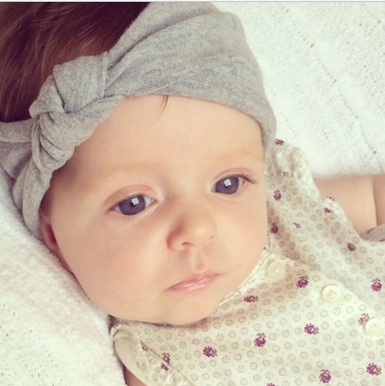 Baby Girl's New Fashion Turban Twist Headband Head Knotted Soft Baby Headband children hair accessories,bandage on head(China (Mainland))