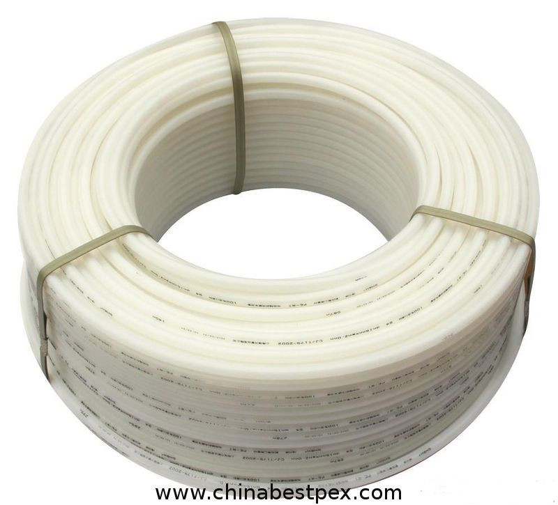 China pure pex pipe for hot water of floor heat system in for Pex pipe for hot water heating