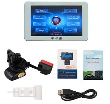 2016 obd 2 scanner V checker A612 Auto Trip Computer with multi-languages OBD2 V-CHECKER A612 with 5-inch LCD color touch screen(China (Mainland))