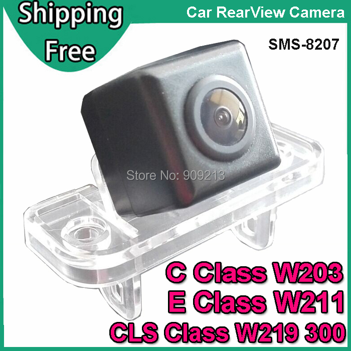 Car Rear View Camera for Mercedes Benz C Class W203 , E Class W211 , CLS Class 300 W219 Backup Reverse Camera SMS-8207(China (Mainland))