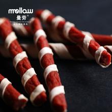 Manlao 100g fresh beef stick beef pet dog snack dog training snack beauty hair bright hair(China (Mainland))