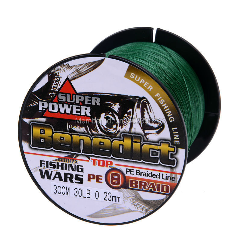 Brands new Supper strong 300M Pe fishing line 8 strands(wires) 0.14mm-0.55mm multifilament Braided fishing line moss green(China (Mainland))
