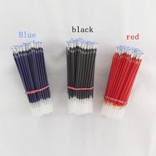 10шт / много Нейтральная чернил гелевая ручка пополнить нейтральный пера хорошее качество пополнения черный синий красный 0,5 пуля пополнения офиса и школы