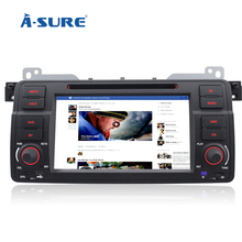 A-Sure SAT NAV Radio Navigation DVD GPS for BMW 3 Series E46 318 320d 325 Rover 75 MG ZT In-Car Stereo BT (China (Mainland))