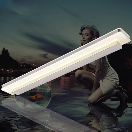 Modern Minimalist LED Mirror Lights Hotel Bathroom Toilet Wall Lamp Water Fog Makeup Wall Sconce<br><br>Aliexpress