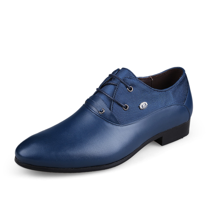 Genuine Leather Men Oxford Shoes Business England Style Male Point Toe Men Shoes Big Size 45 46 47 158(China (Mainland))