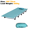 2017 NEW Sturdy Comfortable Portable Folding Camp Bed Cot Sleeping Outdoor mat Military Folding Bed With