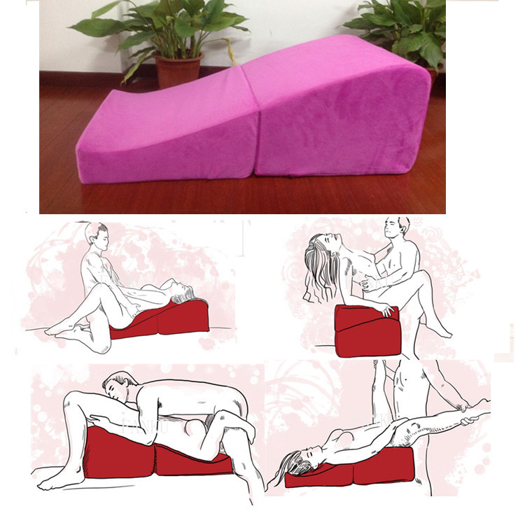 The most economical sexual collapsible S style Sex sofa chair sponge pad Fri Cube sofa bed furniture Sex wedge couples sex mat(China (Mainland))