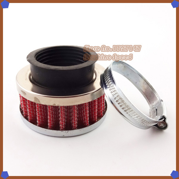 Red 42mm Air Filter For GY6 150cc Moped Scooters ATV Quad Go kart Buggy Motor Moped Scooter Motorcycle(China (Mainland))