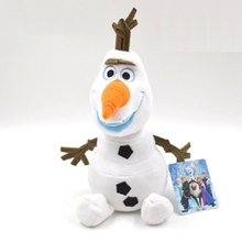olaf Plush Toys 23cm kids baby toys doll 50cm Snowman Cartoon Stuffed Plush toys Doll Gift for girl Baby Gift for olaf doll