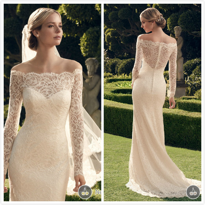 Lace Winter Wedding Dresses_Wedding Dresses_dressesss