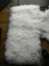 Natural Tibetan Lamb Rug Goat Skin Blanket Mongolian Blanket Sheep Fur(China (Mainland))