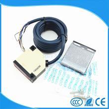 Sensor interruptor fotoeléctrico 4 M E3JK-R4M1 Retroreflective fotoeléctrico DC12-24V 18*50*50