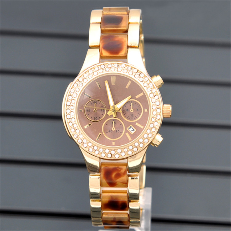 2015 women wristwatch New Fashion Watch Gold Color Mens Watches Top Brand Luxury Ladies Watch Steel Women Dress Watches XW0763<br><br>Aliexpress