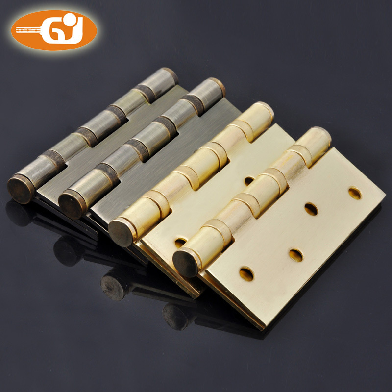 Green ancient hinge 4 inch stainless steel hinge four-bearing interior door hinge a two loaded hinge 2.5mm(China (Mainland))