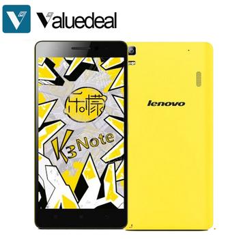 Оригинал Lenovo Lemo K3 примечание K50-t5 5.5 дюймов FHD 4 г FDD LTE Android 5.0 мобильный телефон MTK6752 Octa ядро двойной SIM 2 ГБ 16 ГБ 13.0MP