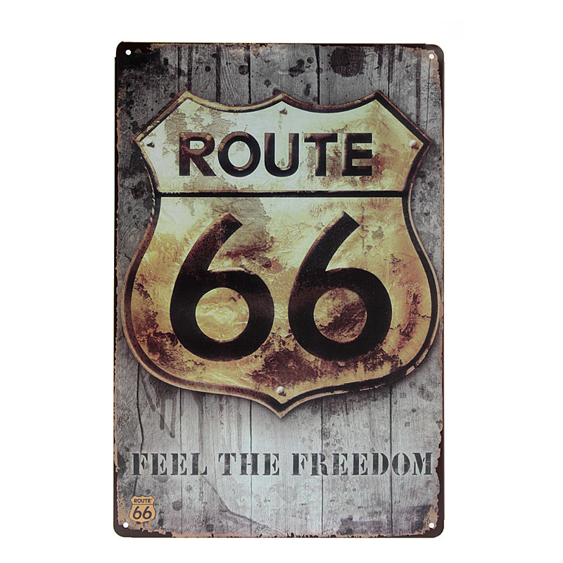 Fashionable Style Retro Vintage Advertising Metal Sign Wall Plaques Ideal Gift Garage home Wall Decor Retro Metal