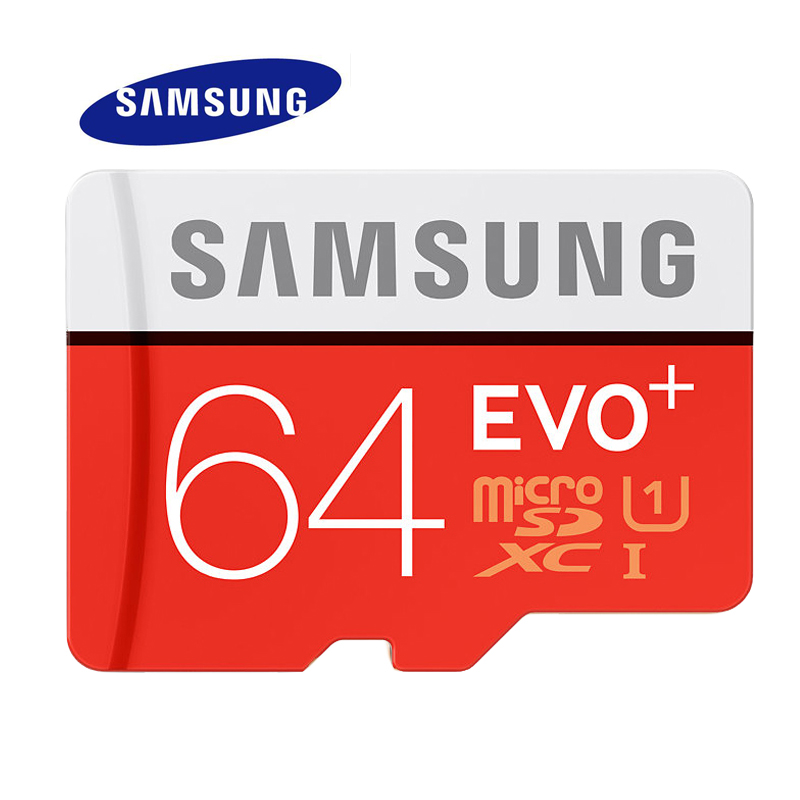 SAMSUNG Memory Card 64G SDHC SDXC TF80M Grade EVO+ MicroSD Class 10 Micro SD C10 UHS TF Trans Flash 64 GB(China (Mainland))
