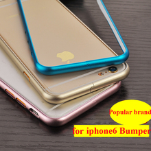 protective bumper on the for iphone6 6s case mobile aluminum cellphone Protection for iphone6s bumper cover mobile accessories