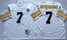 Pittsburgh Steeler Ben Roethlisberger Heath Miller Antonio Brown Throwback for mens(China (Mainland))