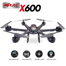 2016 MJX X600 Quadcopter Headless Mode 2.4GHz 6 Axis Gyro RC Hexacopter with 3D Roll Stumbling rc drone with C4005 FPV camera