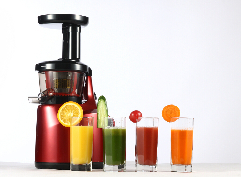 FREE SHIPPING NEW korea hurom automatic fruit and vegetable low speed press slow juicer Juice ...