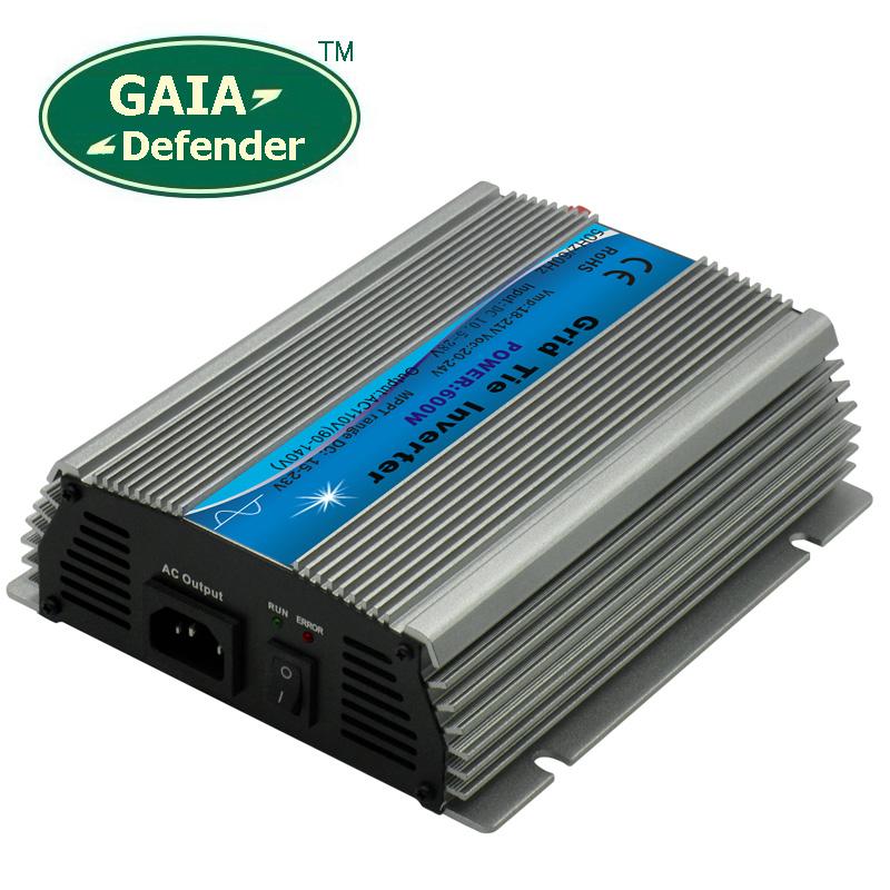 600W MPPT Solar Power Grid Tie Inverter DC10.8V-28V to AC 90V -140V 100V 110V 120V(China (Mainland))