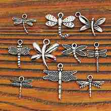 Buy Mixed Tibetan Silver Plated Insect Dragonfly Bee Charms Pendants Jewelry Making Accessories Diy Jewelry Findings Zinc Alloy m004 for $1.29 in AliExpress store