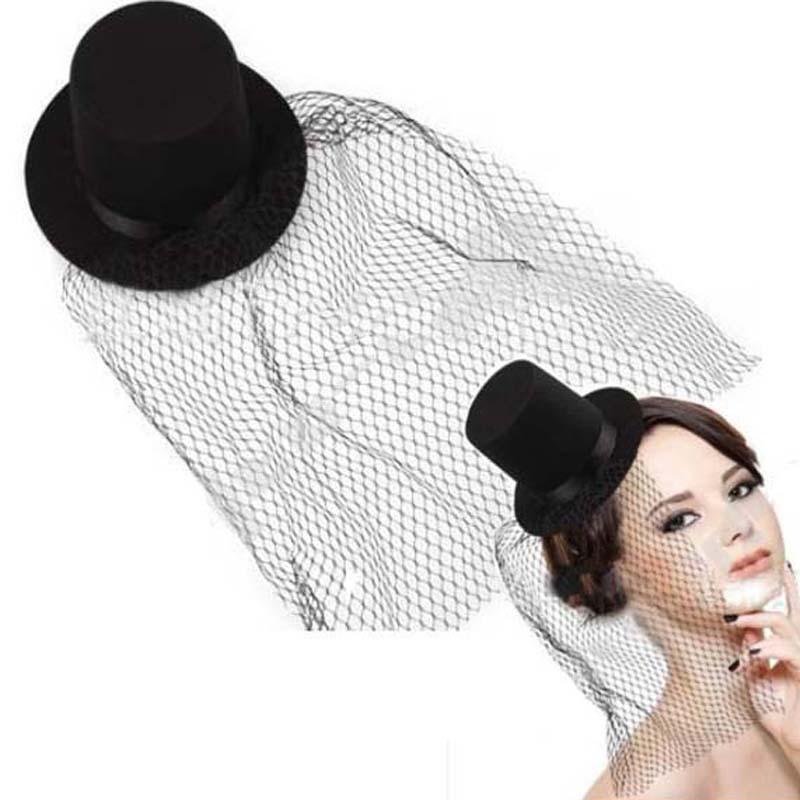 Fashion Women Flower Hair Clip Floral Mini Top Hat Fascinator Fancy Party Supplies Decor(China (Mainland))