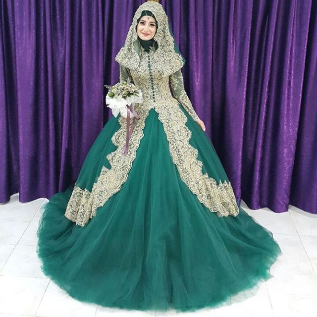 Popular turkish wedding dress buy cheap turkish wedding for Muslim wedding dress photo