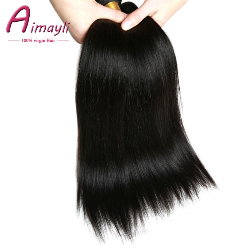 Brazilian Virgin Hair Straight 4 Bundles Virgin Brazilian Straight Hair Queen Hair Products Brazilian Straight Weave Human Hair