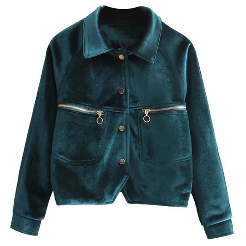 Spanish Luxury Silk Velvet Short Women Jackets Coats Candy Color Female Overcoats China Online Shop Cool Fashion Streetwear C721(China (Mainland))
