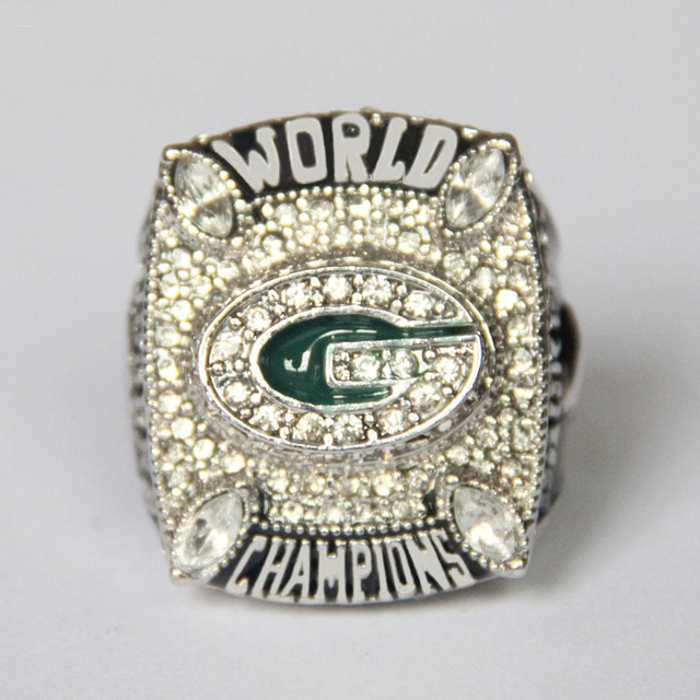 Fans Green Bay Packers Aaron Rodgers the NFL Super Bowl championship rings Champion Statement Jewelry(China (Mainland))