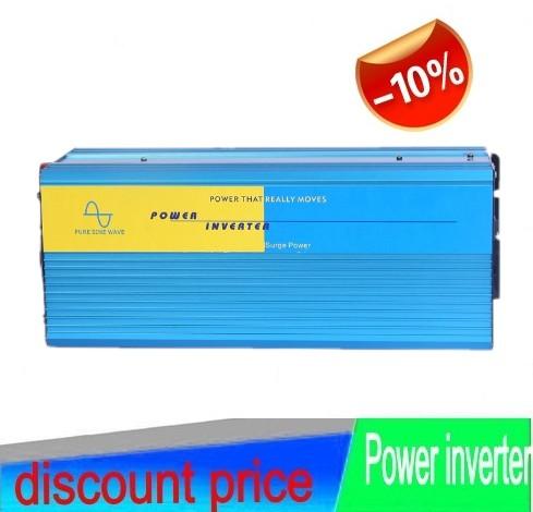 Off Grid Inverter Solar DC 12V/24V to AC 110V/120V/220V/230V/240V 3000W Inverter Pure Sine Wave<br><br>Aliexpress