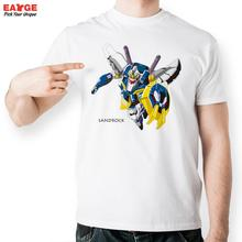 Sandrock Gundam W T Shirt Design Inspired By Super Robot Wars Game T-shirt Novelty Tshirt Men Women Cool Fashion Printed Tee