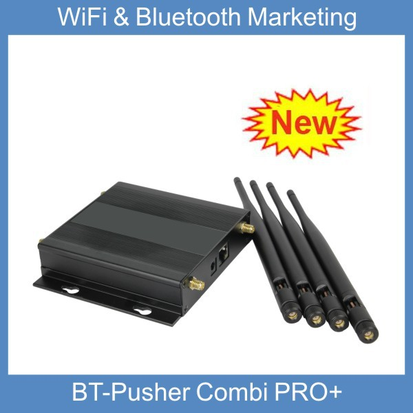 Proximity marketing device with FREE WiFi hotspot and bluetooth Advertising BT-Pusher COMBI PRO+(Zero cost promote)(China (Mainland))