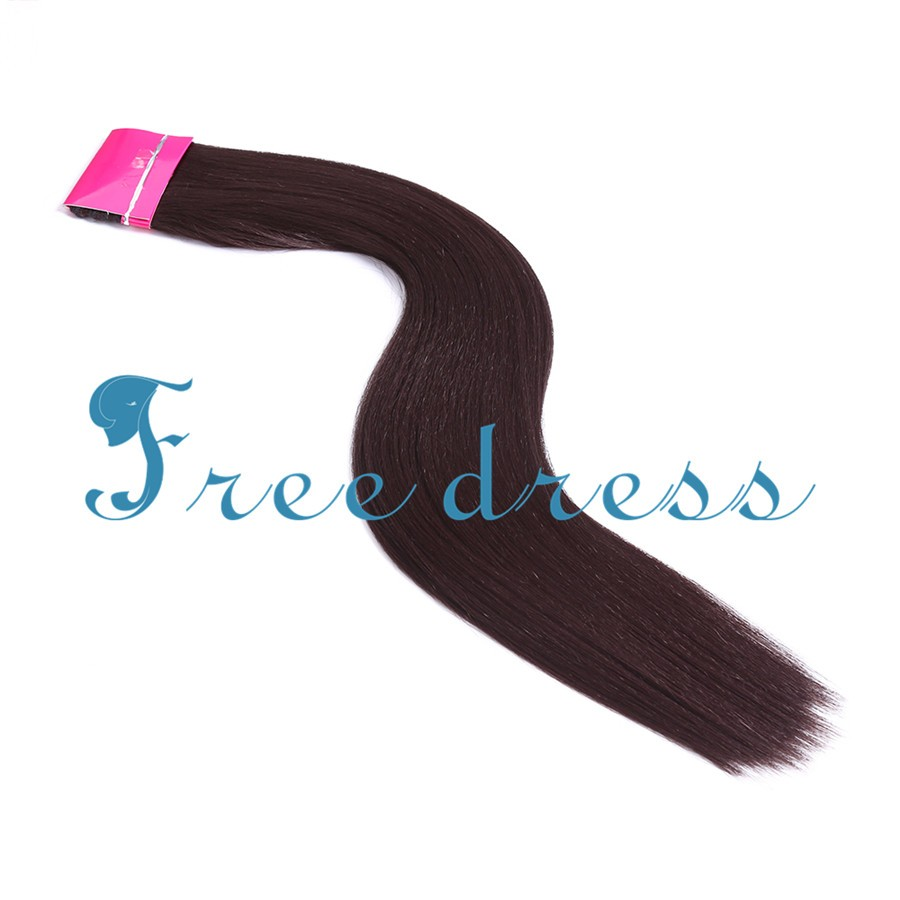 High quality Classic Perm Yaki 26inch Long Straight Yaki Hair Weft of Synthetic weaving hair extensions